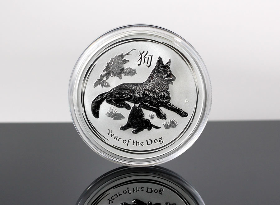 Dog 1oz Bullion Coins