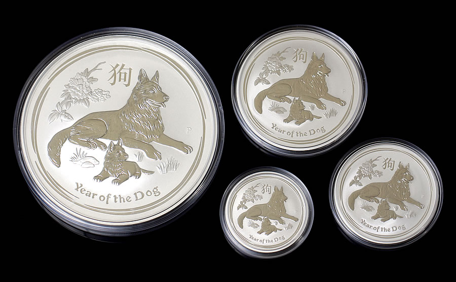 Australian 2018 Year Of The Dog 1oz Bullion Coins Sell Out