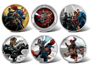 Canadian 2018 Collector Coins Depict Justice League Superheroes