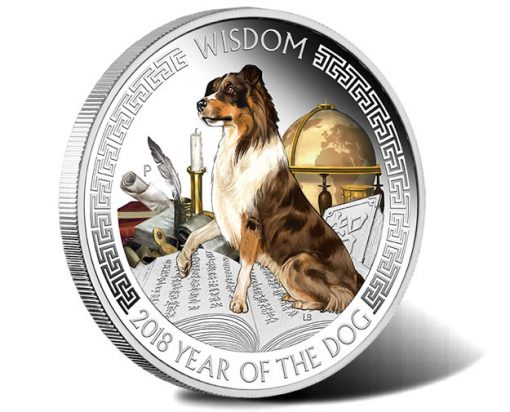Lunar Good Fortune Series - Wisdom 2018 1oz Silver Proof Coin