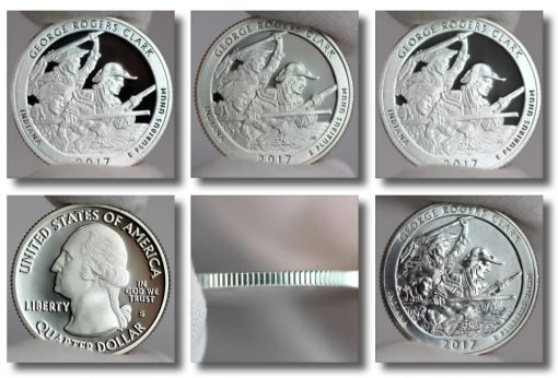 Photos of 2017 George Rogers Clark National Historical Park Quarters