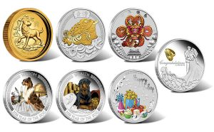 Perth Mint of Australia 2018 Collector Coins for December