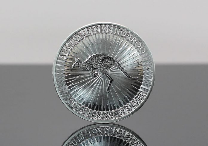 2018 Australian Kangaroo 1 oz Silver Bullion Coin