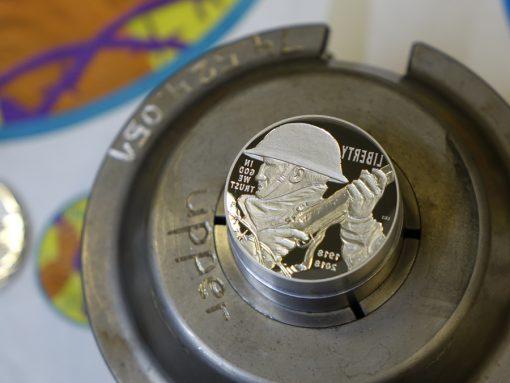 2018 World War I Centennial Silver Dollar Die