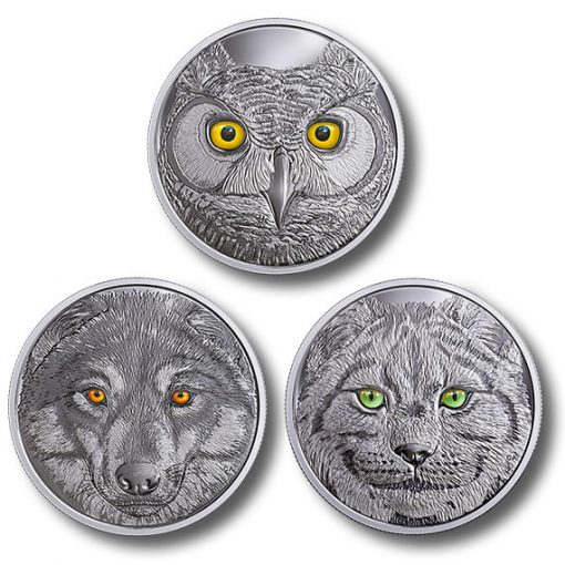 In The Eyes of Canada's Wildlife coins