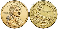 Native American 2017 $1 Dollar Coin