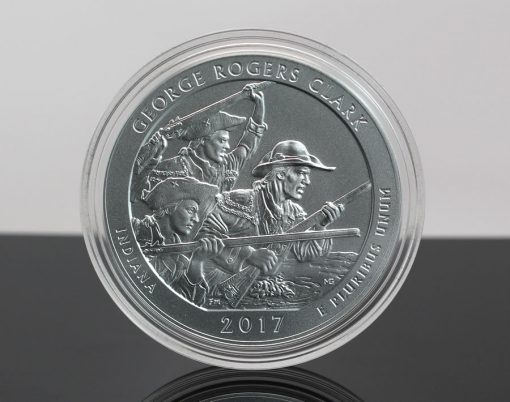 Photo of 2017-P George Rogers Clark National Historical Park Five Ounce Silver Uncirculated Coin