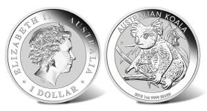 2018 Australian Koala Silver Bullion Coins Released