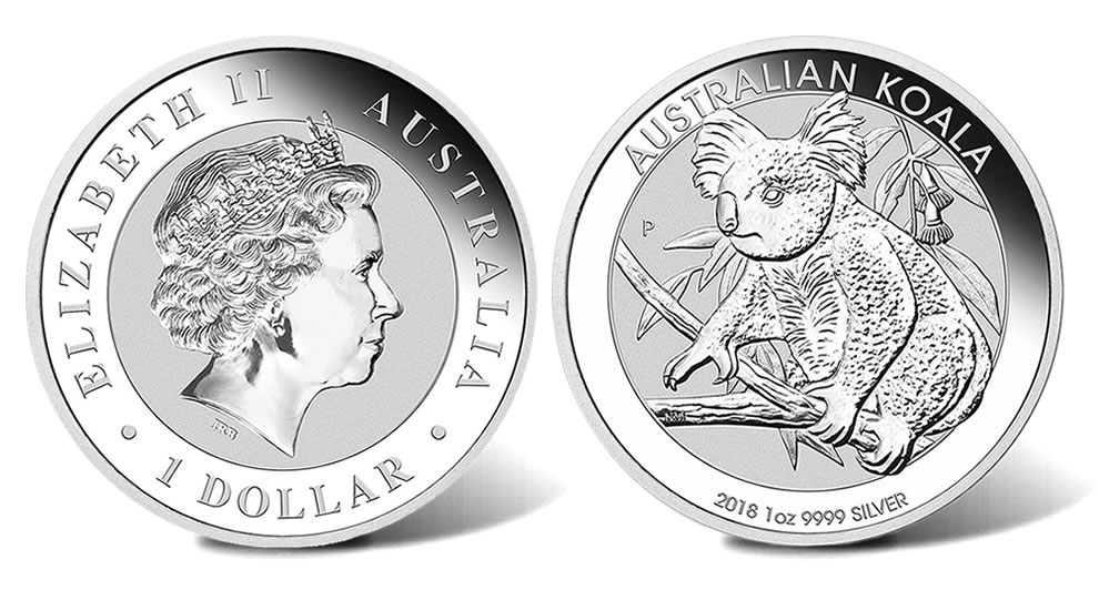 2018 Australian Koala Silver Bullion Coins Released Coin