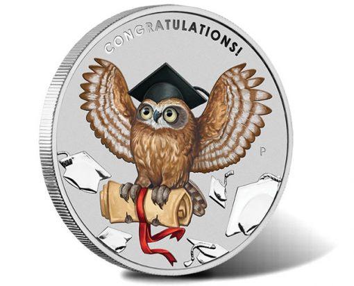 2018 Graduation 1oz Sliver Coin for Card