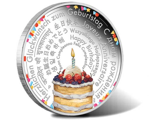 2018 Happy Birthday 2oz Silver Proof Coin