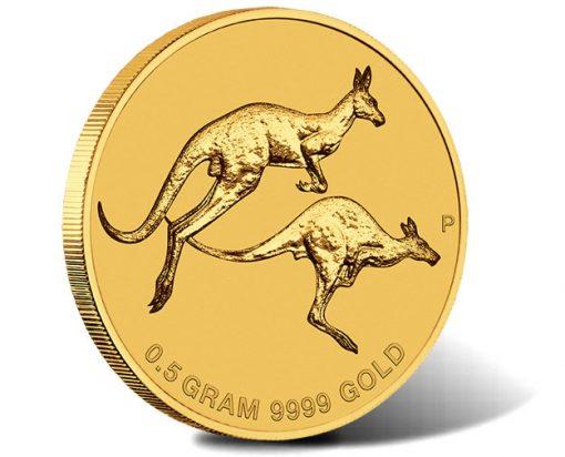 2018 Mini Roo 0.5g Gold Coin