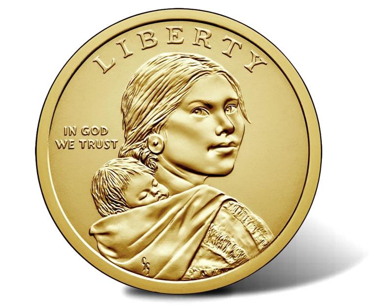 2000-D Sacagawea One Dollar Coin $1 Circulated Coin~Nice AU