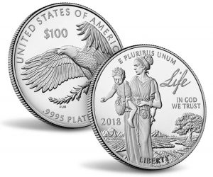 2018 Proof American Platinum Eagle