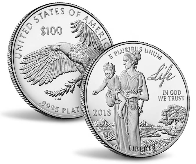 2021-2025 Proof Platinum Eagles To Depict Five Freedoms | Coin News