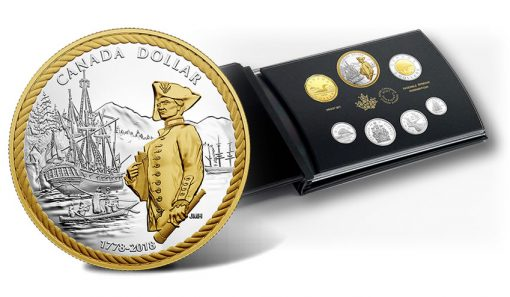 2018 Silver Proof Set - 240th Anniversary of Captain Cook at Nootka Sound