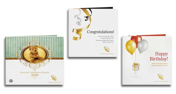 2018 Special Occasion Sets - Birth, Congratulations and Happy Birthday