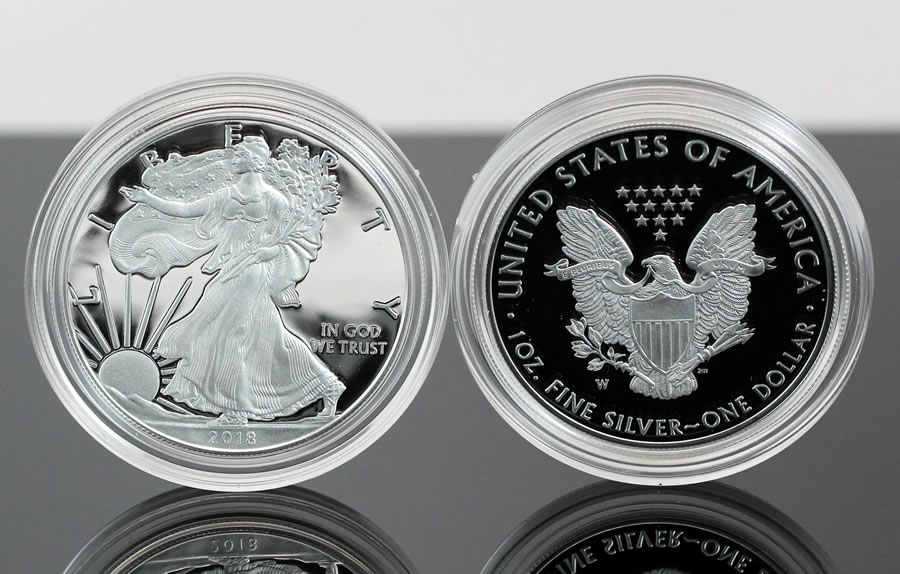 2018 W Proof American Silver Eagle Photos And First Day