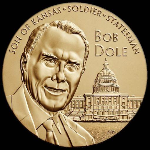 Bob Dole Bronze Medal - obverse