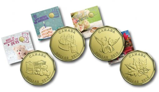 Canadian 2018 Coin Gift Sets