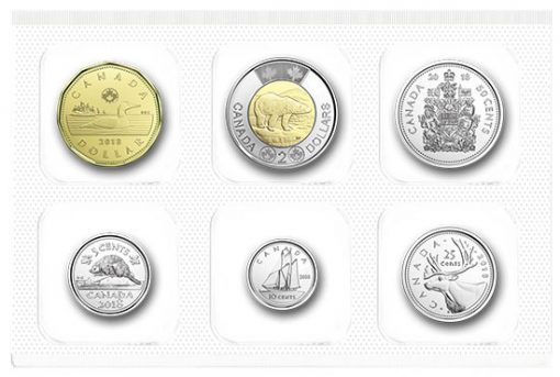 Packaging of 2018 Classic Canadian Uncirculated 6-Coin Set