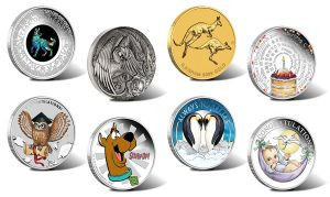 Perth Mint of Australia Products for January