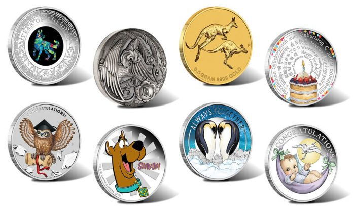 Perth Mint of Australia Collector Coins for January 2018