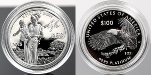 US Mint Sales: 2018 Proof Platinum Eagle Debuts