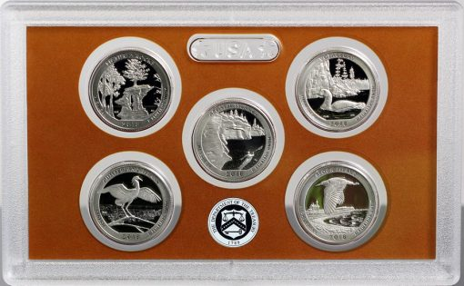 Photo of Lens in 2018 America the Beautiful Quarters Proof Set