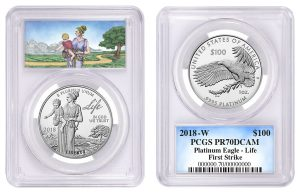 PCGS Special Labels Available for 2018 Platinum Eagle 'Life' Coin