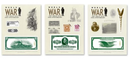 World War I - 100thAnniversary 2018 Intaglio Print Collection