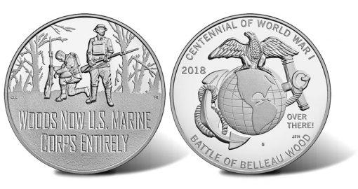 World War I Centennial Marine Corps Medal