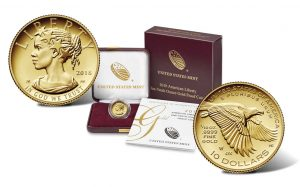 2018 $10 American Liberty 1/10 oz Gold Proof Coin Release