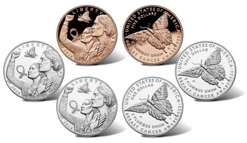 2018 Breast Cancer Awareness Commemorative Coins