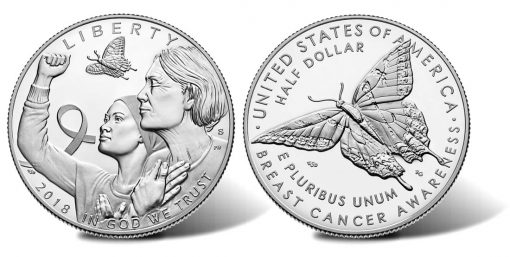 2018-S Proof Breast Cancer Awareness Half-Dollar