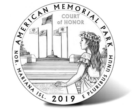 2019 American Memorial Park Quarter Design - Recommended Candidate MP2-04