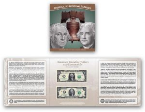 America's Founding Fathers Currency Set for 2018