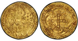 PCGS-Certified Edward III Double Leopard in Inaugural USA Exhibit