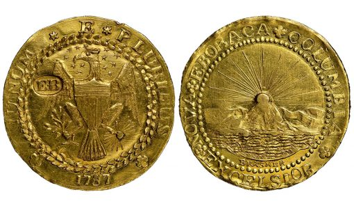 1787 DBLN Brasher Doubloon