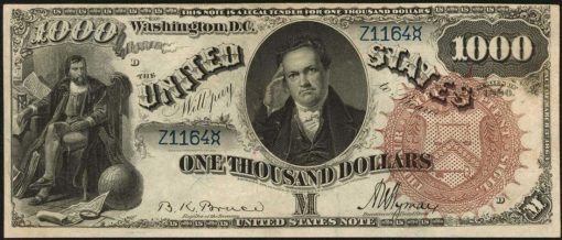 1880 $1000 Legal Tender Note