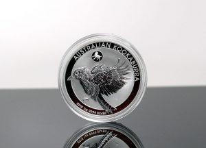 2018 Australian Kookaburra Year of the Dog Privy Mark 1oz Silver Bullion Coin