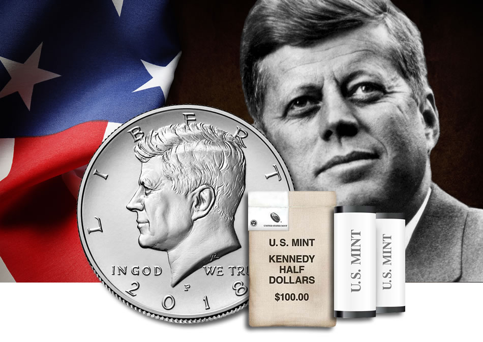 2015 P/&D SET KENNEDY HALF DOLLAR CLAD TWO COINS SET UNCIRCULATED U.S MINT