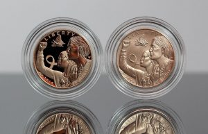 US Mint Sales: Breast Cancer Coins Debut