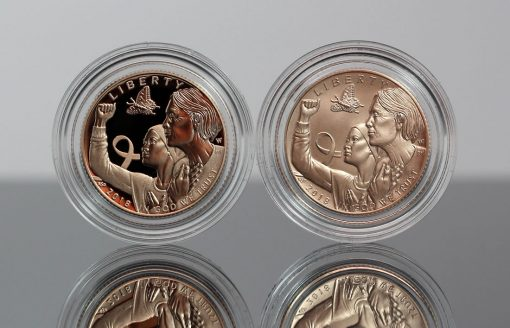 2018-W $5 Breast Cancer Awareness Gold Coins - Obverses
