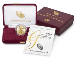 US Mint Sales: 2018 Proof American Gold Eagles Debut