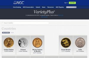 NGC VarietyPlus website