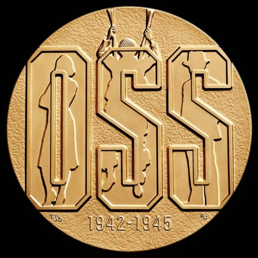 Office of Strategic Services (OSS) Bronze Medal - Obverse