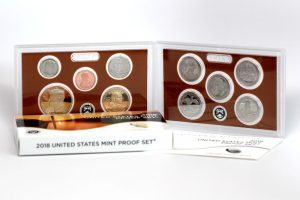US Mint Sales: 2018 Proof Set Nears 276,000