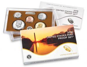 US Mint 2018 Proof Set Released