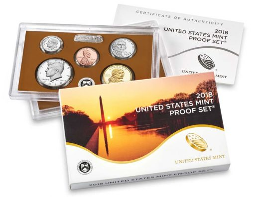 clad 2018 Proof Set
